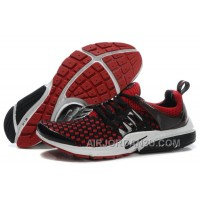 820-998391 Nike Air Presto Women Red/Black/White Authentic HyJAJ