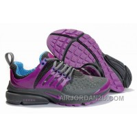 820-998387 Nike Air Presto Women Purpel/Black/Blue Authentic 8HQY7