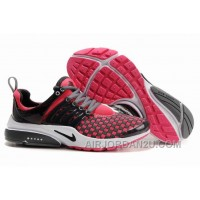 820-998381 Nike Air Presto Women Red/Black/White/Gray Free Shipping WAMYw