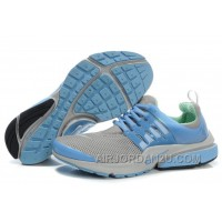 820-998379 Nike Air Presto Women Blue/Gray/Green/Black Christmas Deals R5xpB