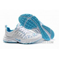 820-998393 Nike Air Presto Women Blue/White Lastest B85ai