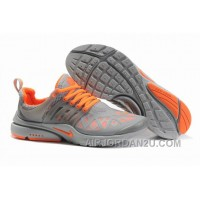 820-998385 Nike Air Presto Women Gray/Orange Cheap To Buy JeSY3