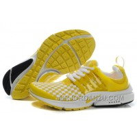 820-998382 Nike Air Presto Women Yellow/Black/White Authentic J7YMw