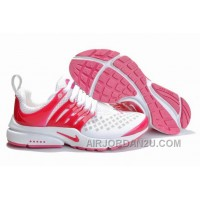 820-998384 Nike Air Presto Women Pink/White/Red Lastest JHCtS