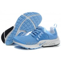 820-998377 Nike Air Presto Women Blue/White/Black Lastest EAEaG