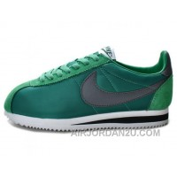 Nike Classic Cortez Nylon Dark Atomic Teal Black White Best WEKK23
