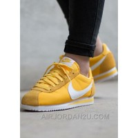 Nike Cortez Womens Yellow Black Friday Deals 2016[XMS1889] Online BcpQF