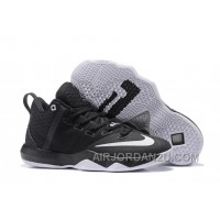 Nike Lebron Ambassador 9 Zoom Air Men Black White Oreo Authentic