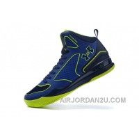 Under Armour Curry Three Royal Blue Green Cheap New Mens Shoes Authentic CGwbE