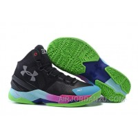 Under Armour Curry Two Custom Black Moon Colorful Sneaker For Sale WHJtp