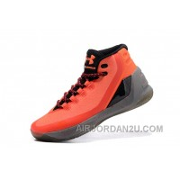 New Under Armour Curry Three Orange Grey New Mens Shoes Online 3iFRY