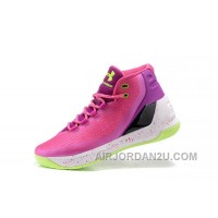 New Under Armour Curry Three Peach White Cheap Mens Shoes Discount CCahx