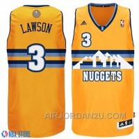 Ty Lawson Denver Nuggets #3 Revolution 30 Swingman Gold Jersey Black Friday Deals 38yiA