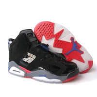Womens Air Jordan 6 Retro Detroit Pistons Varsity Red Blue