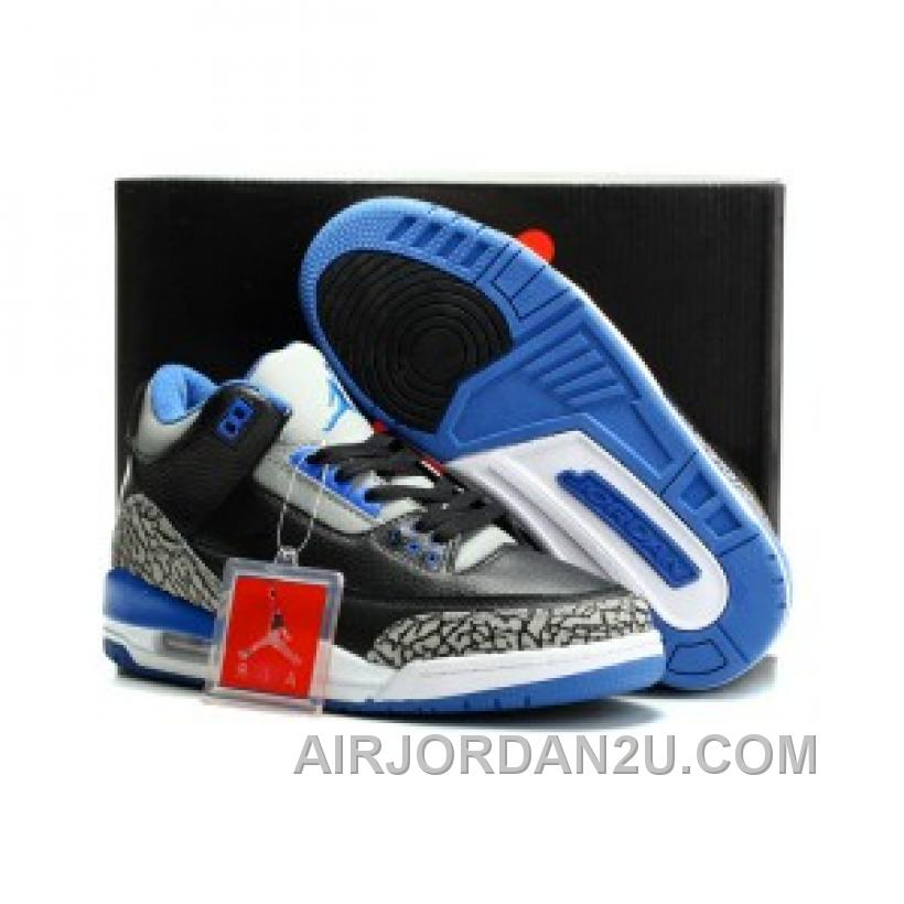 Air Jordan 3 Retro Black Cement New