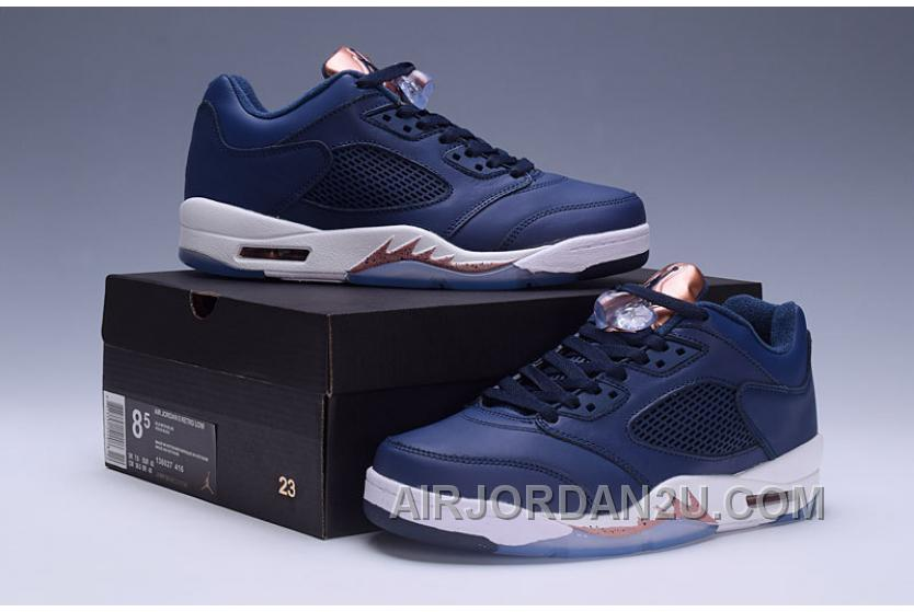 "Discount 2017 Mens Air Jordan 5 Low ""Bronze Tongue"" For Sale"