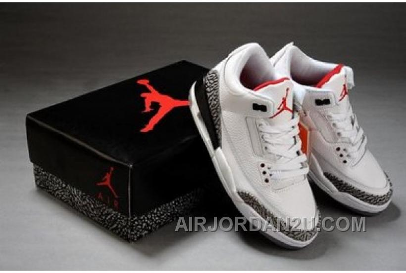 New Arrival Air Jordan 3 Retro 88 White Cement