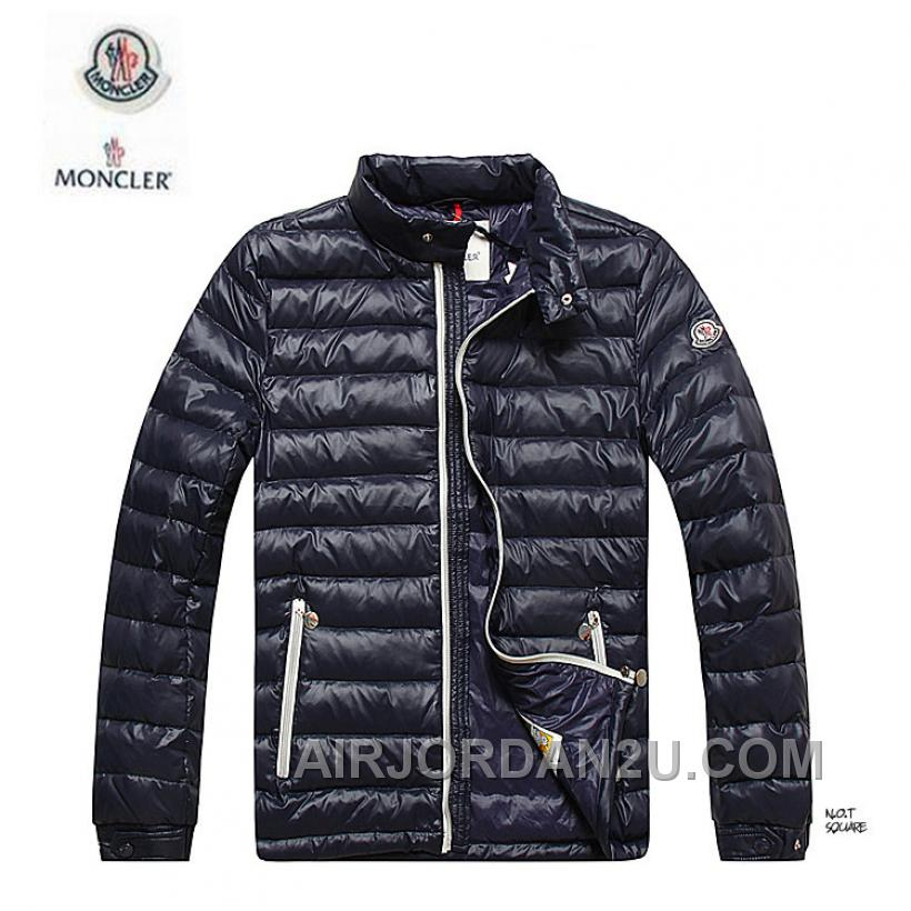 Moncler Down Coats Men Blue 2016 New Arrival 275076