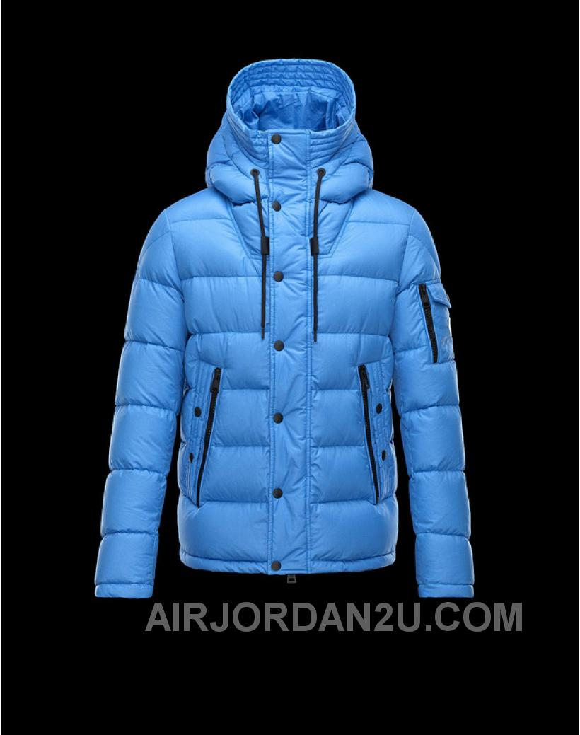 Moncler Down Coats Men Blue 2016 New Arrival 275325
