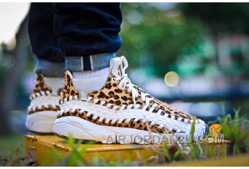 Nike Air Footscape Woven Chukka Motion 190 Zebra 446337-201 Yellow White Top Deals