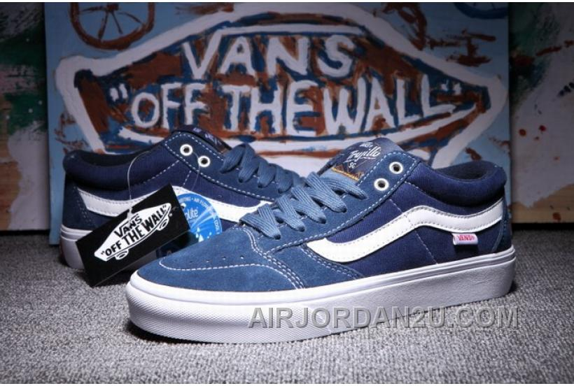 Vans TNT SG Blue White Mens Shoes Authentic Guaranteed 2016