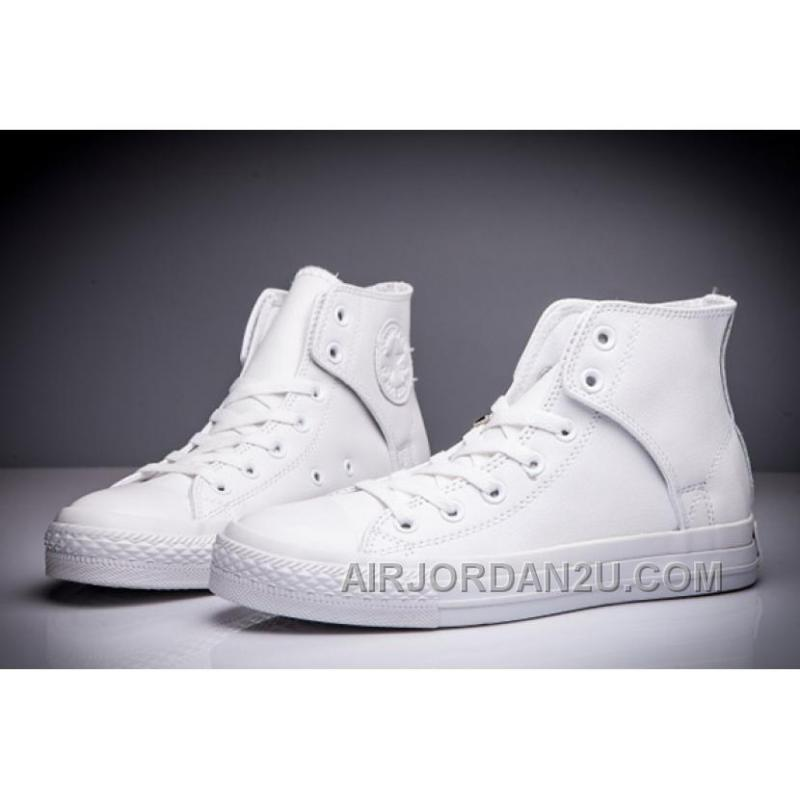 CONVERSE All Star Leather Side Velcro